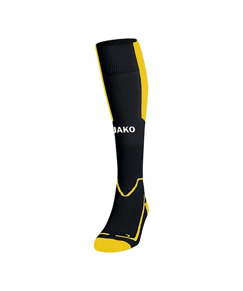 Jako Stutzenstrumpf Lazio Schwarz Gelb F03 - schwarz
