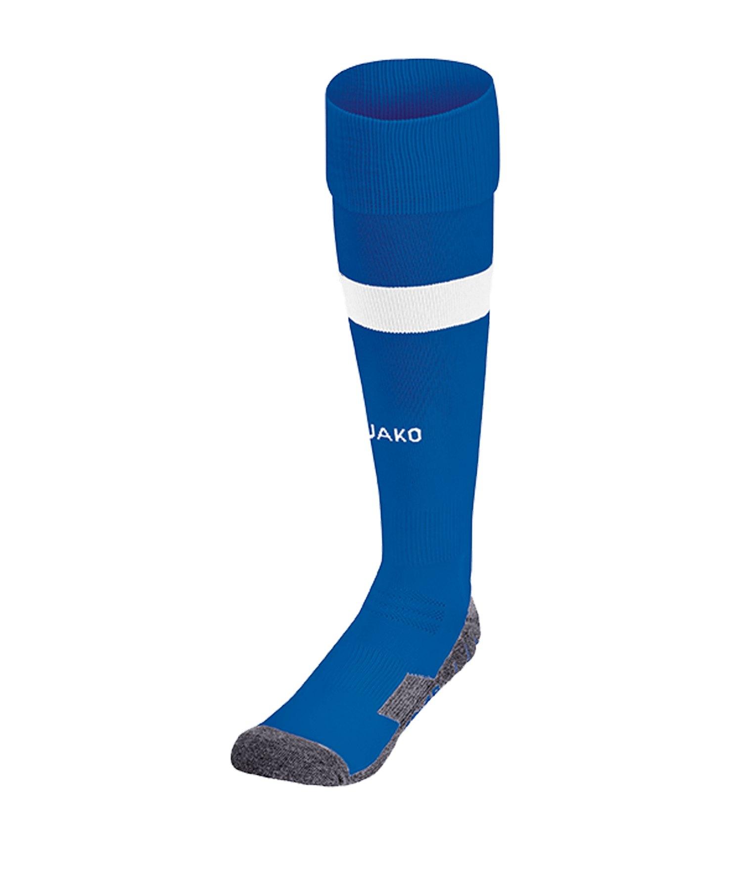 Jako Boca Stutzenstrumpf Blau F04 - blau