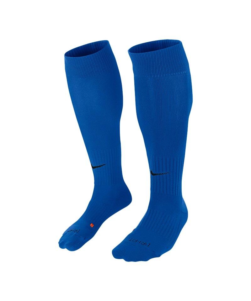 Nike Stutzenstrumpf Sock Classic II F464 Blau - blau