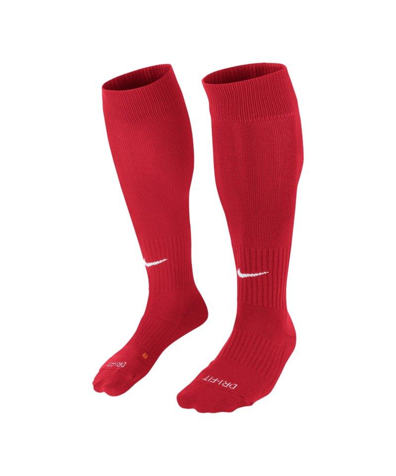 Nike Stutzenstrumpf Sock Classic II F648 Rot - rot