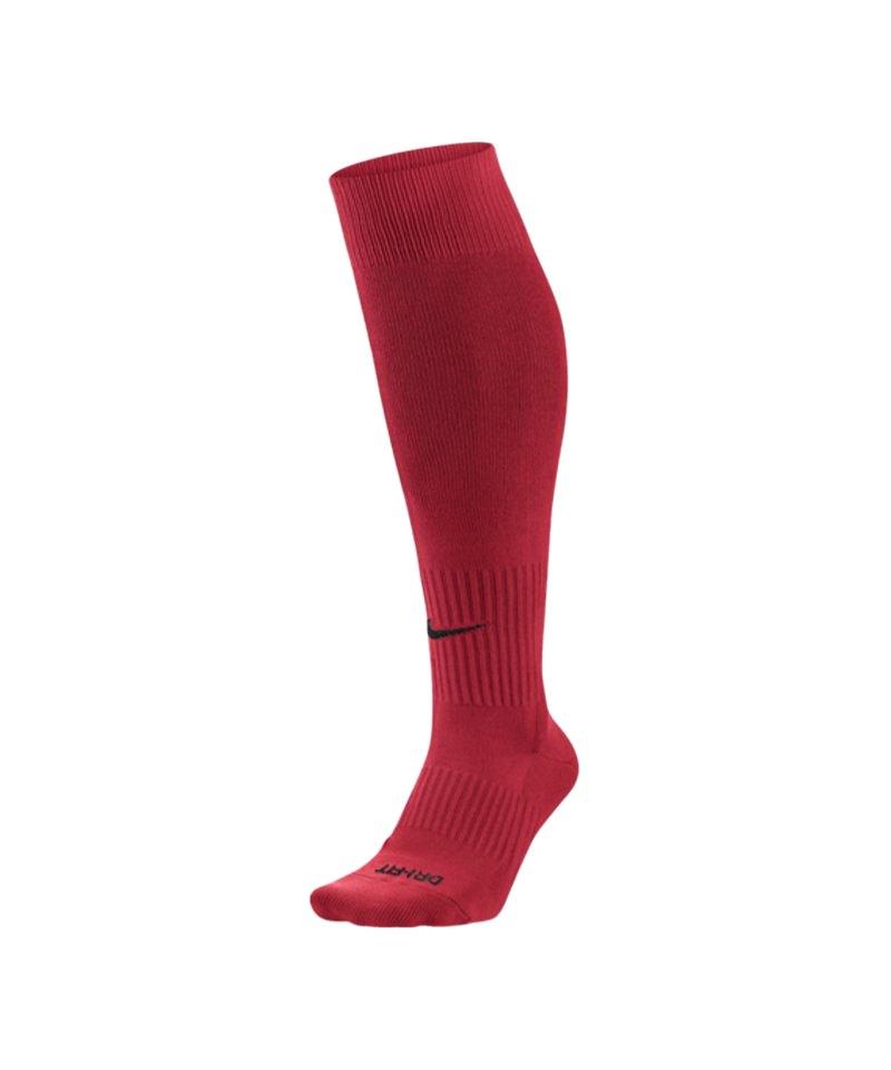 Nike Stutzenstrumpf Sock Classic II F657 Rot - rot