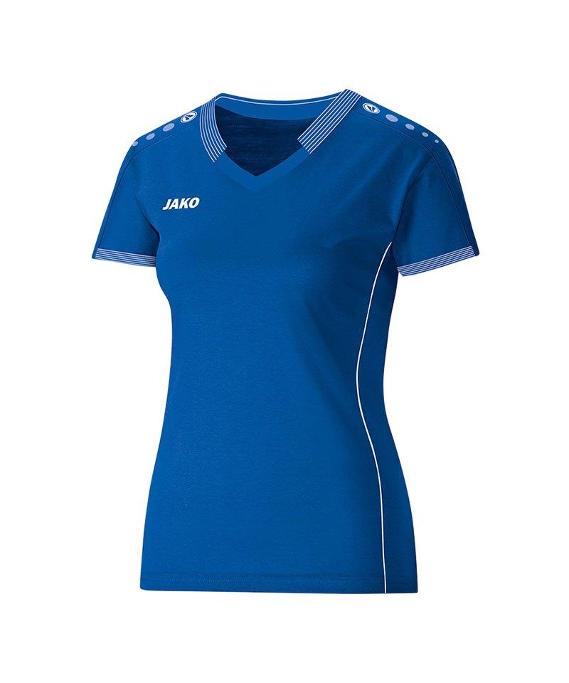 Jako Damen Indoor Trikot Blau F04 - blau