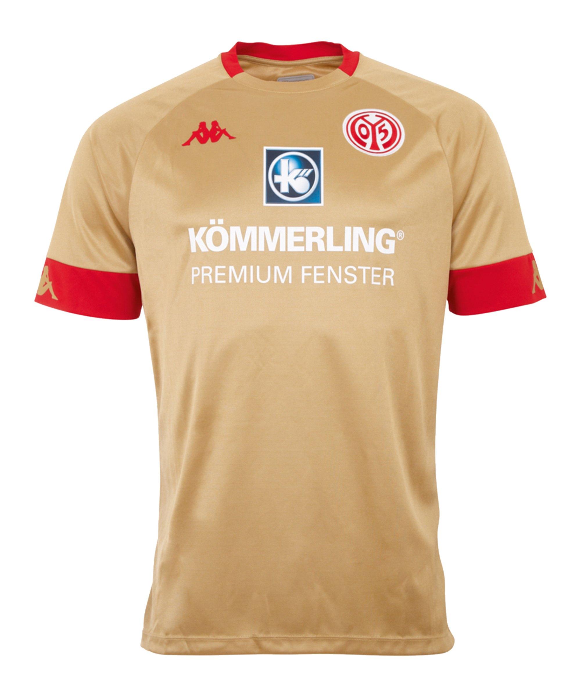 Kappa 1. FSV Mainz 05 Trikot 3rd 2020/2021 Gold - gold