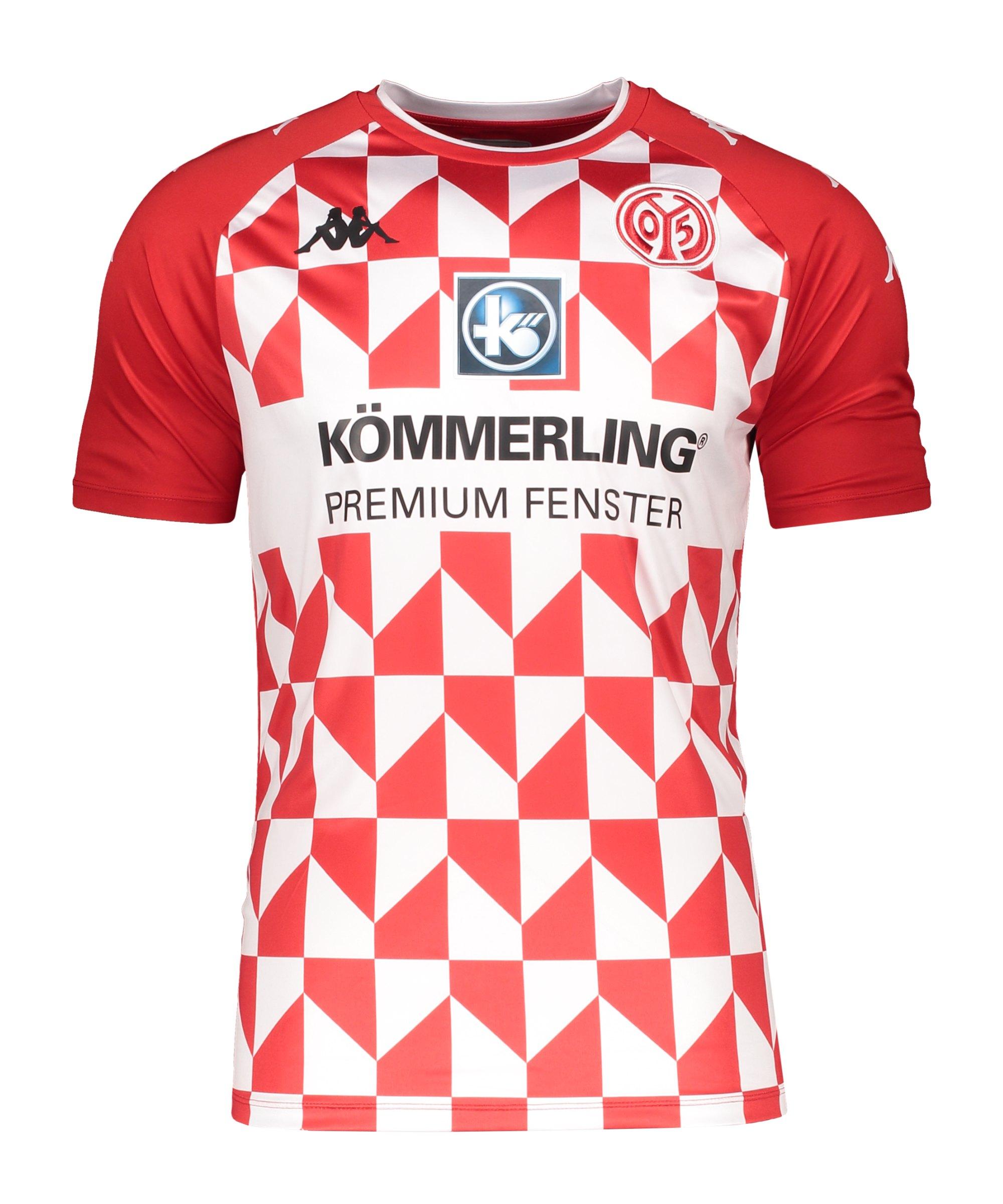 Kappa 1. FSV Mainz 05 Trikot Home 2021/2022 Kids Rot - rot