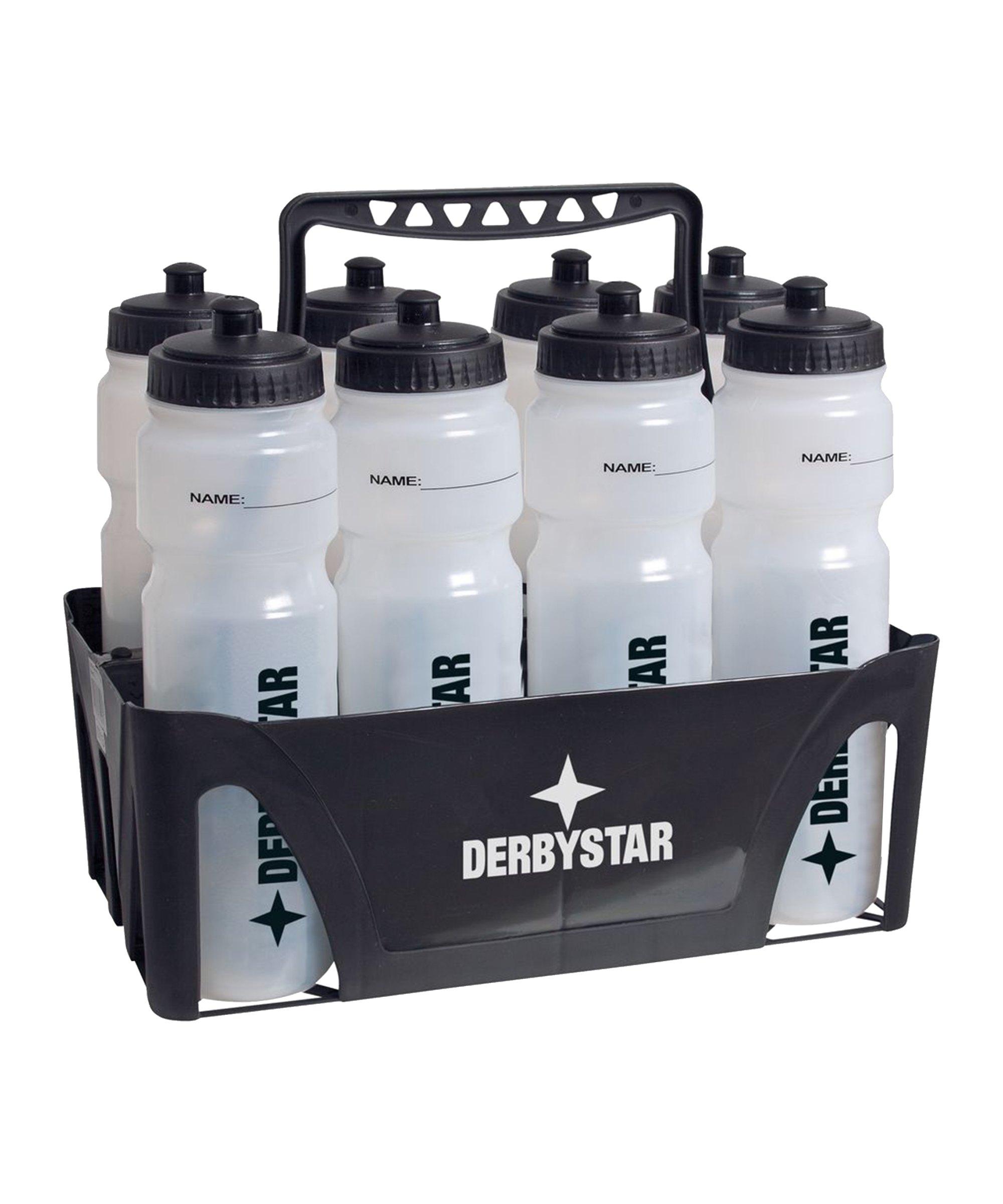 Derbystar Trinkflaschenhalter für 8 Flaschen F000 - schwarz