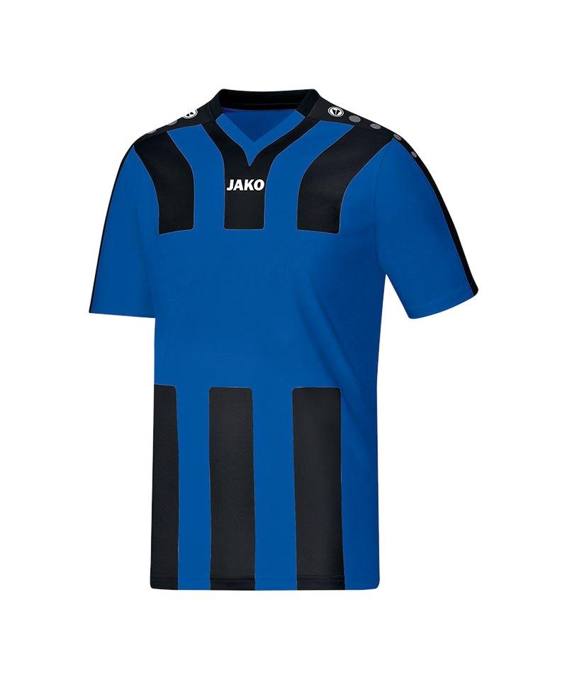 Jako Trikot kurzarm Santos Kinder Blau Schwarz F04 - blau