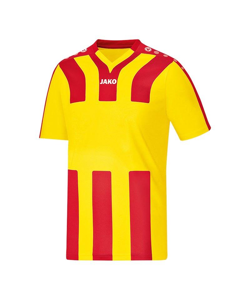 Jako Trikot kurzarm Santos Kinder Gelb Rot F17 - gelb