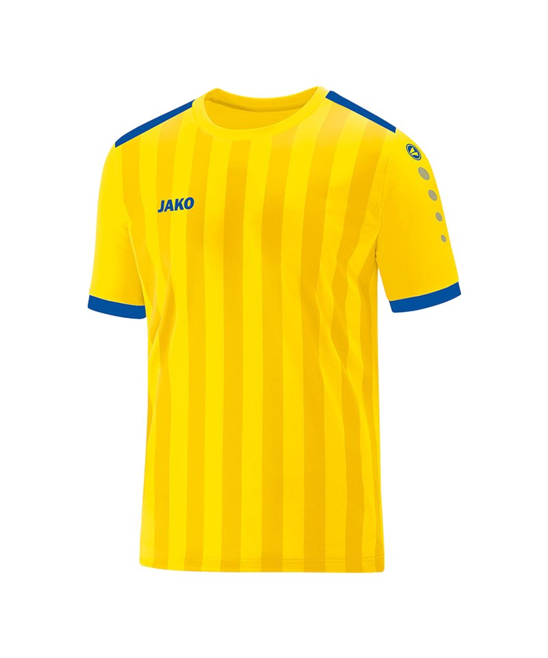 Jako Porto 2.0 Trikot kurzarm Kids Gelb Blau F12 - gelb