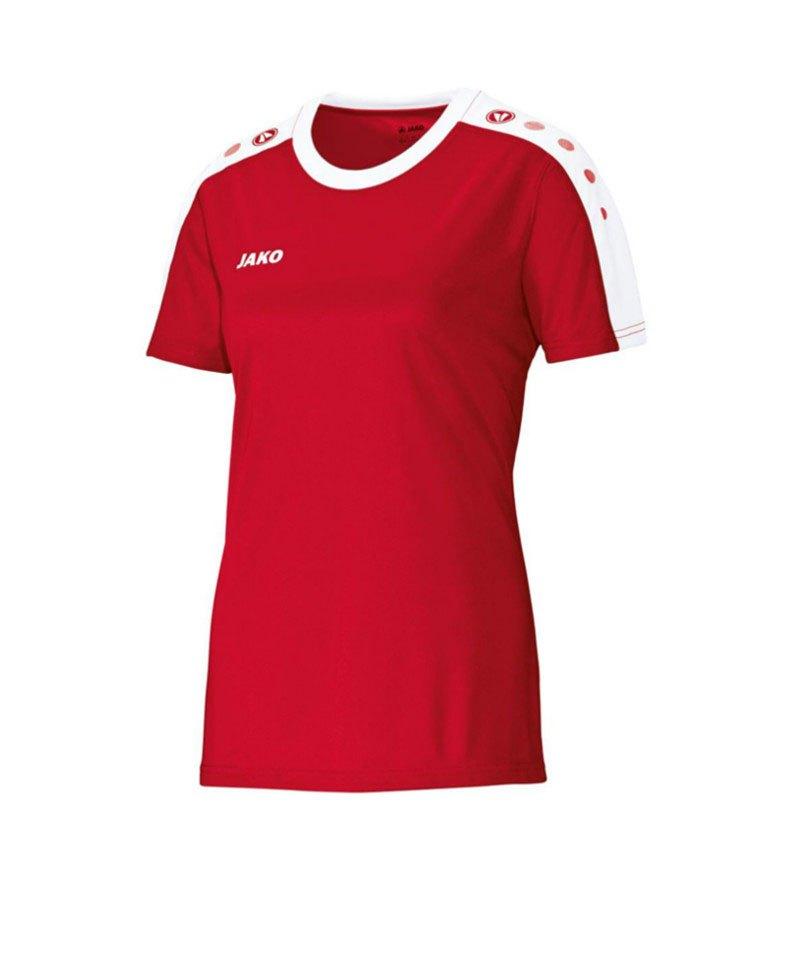Jako Kurzarm Trikot Striker Damen F01 Rot - rot