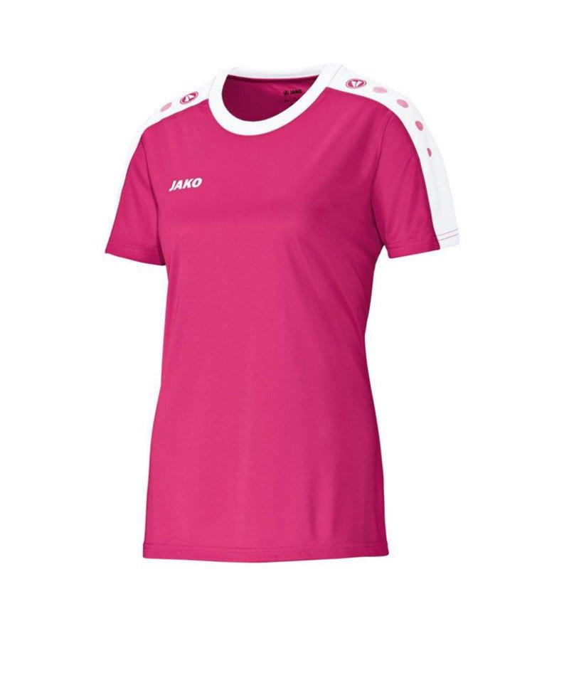 Jako Kurzarm Trikot Striker Damen F16 Pink - pink