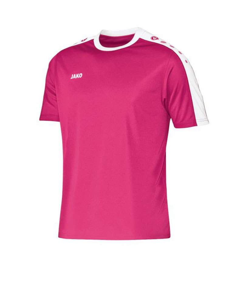 Jako Kurzarm Trikot Striker Kinder F16 Pink - pink
