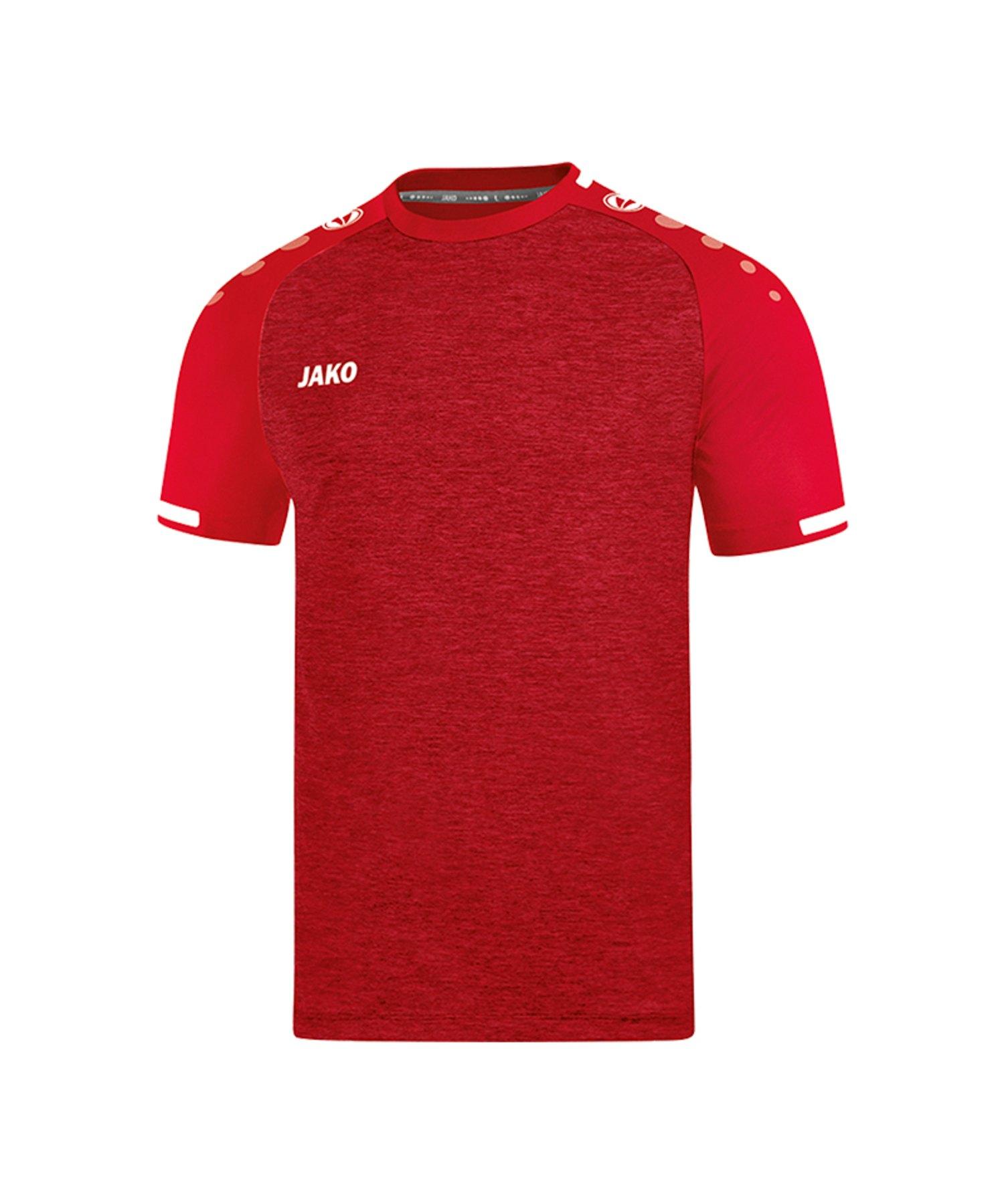Jako Prestige Trikot kurzarm Rot Weiss F01 - Rot