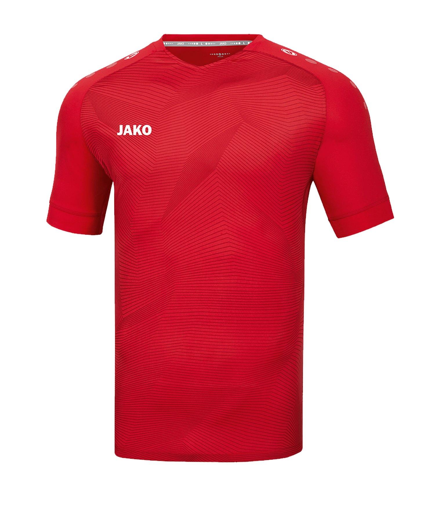 JAKO Premium Trikot kurzarm Rot F01 - rot