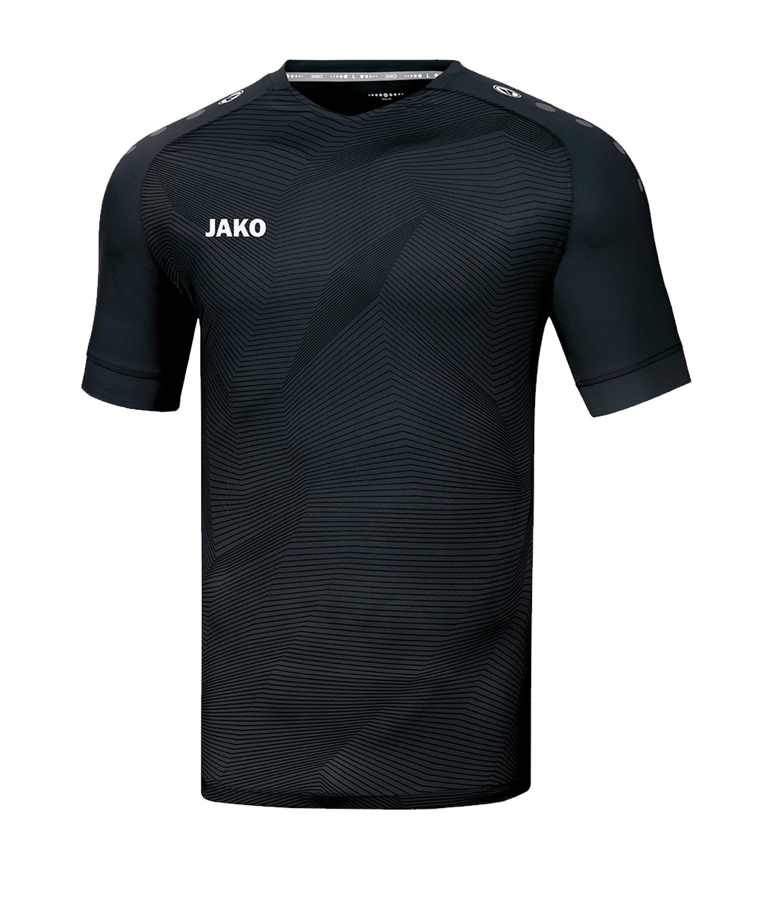 JAKO Premium Trikot kurzarm Schwarz F08 - schwarz