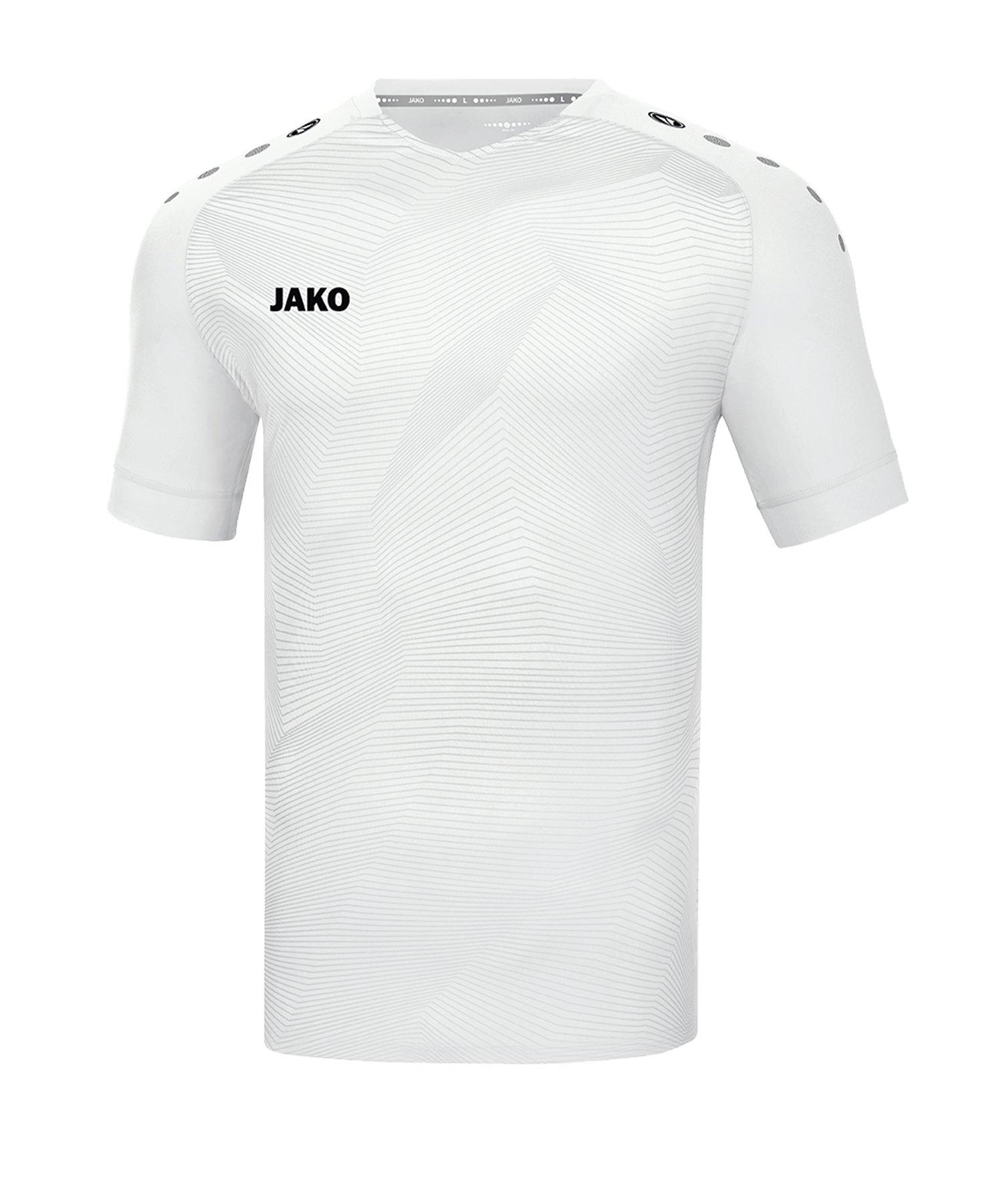 JAKO Premium Trikot kurzarm Weiss F00 - weiss