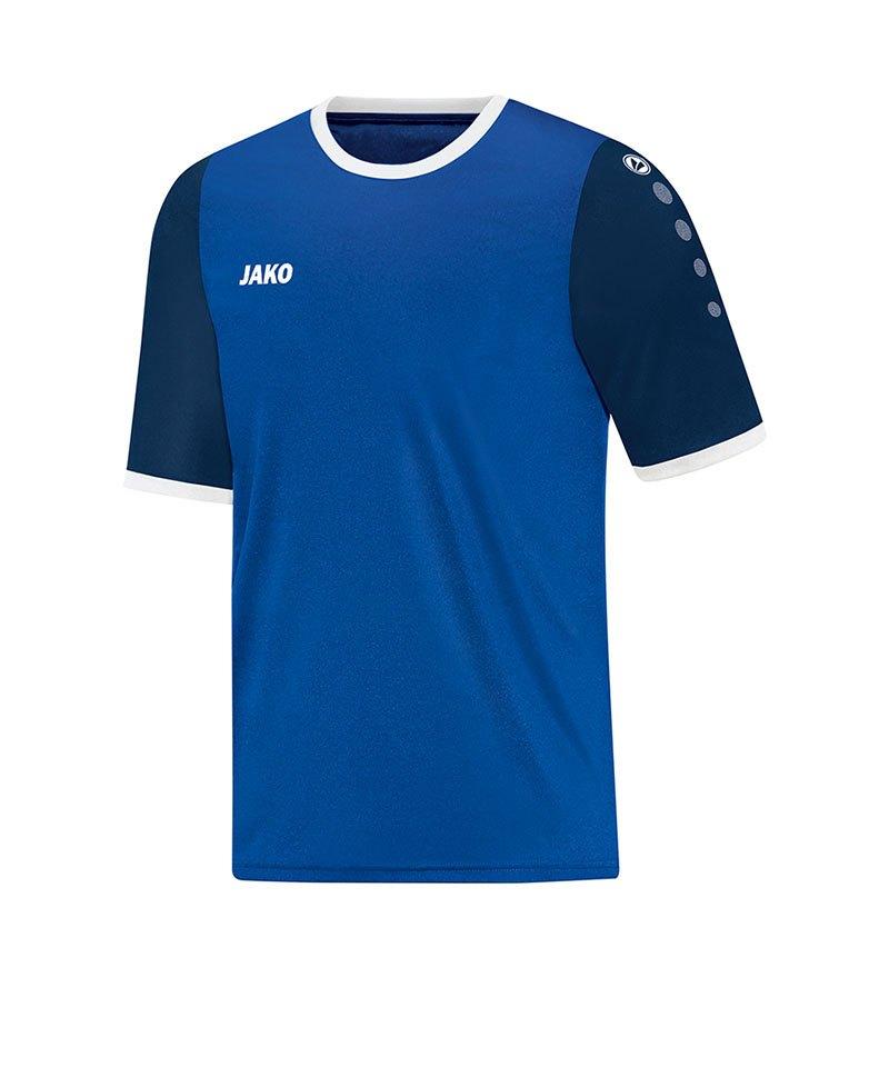 Jako Trikot Leeds kurzarm Blau F04 - blau