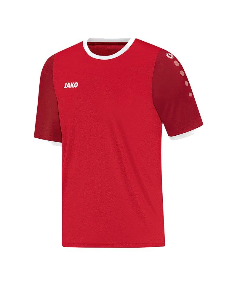 Jako Trikot Leeds kurzarm Kinder Rot F01 - rot