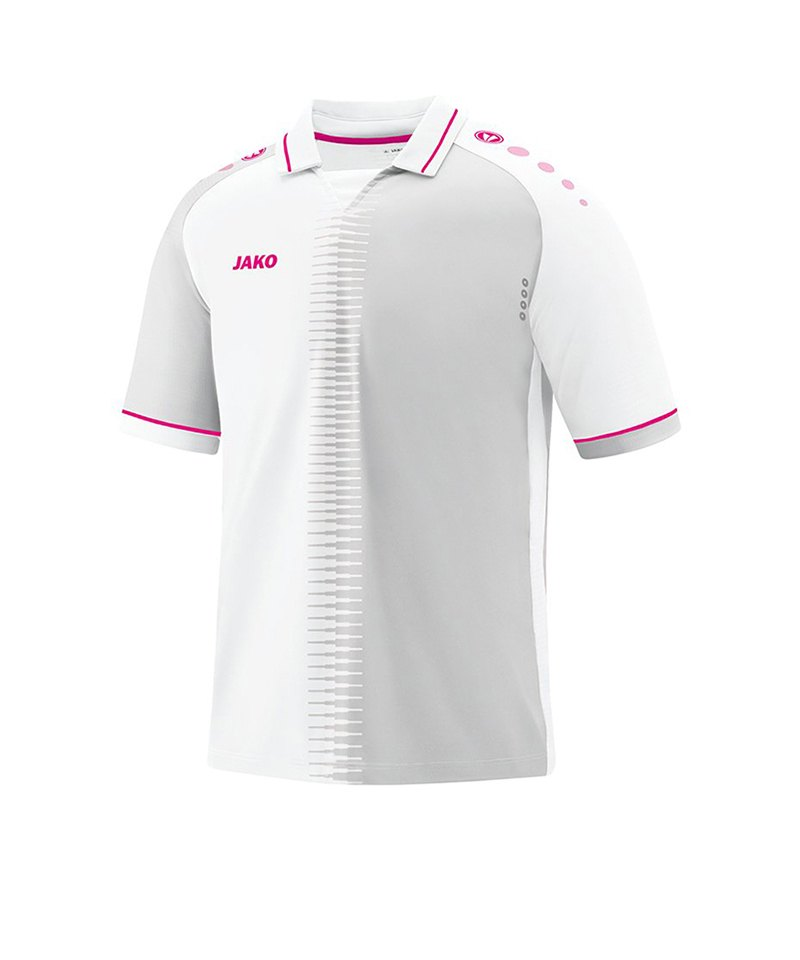 Jako Competition 2.0 Trikot kurzarm Weiss Pink F00 - weiss