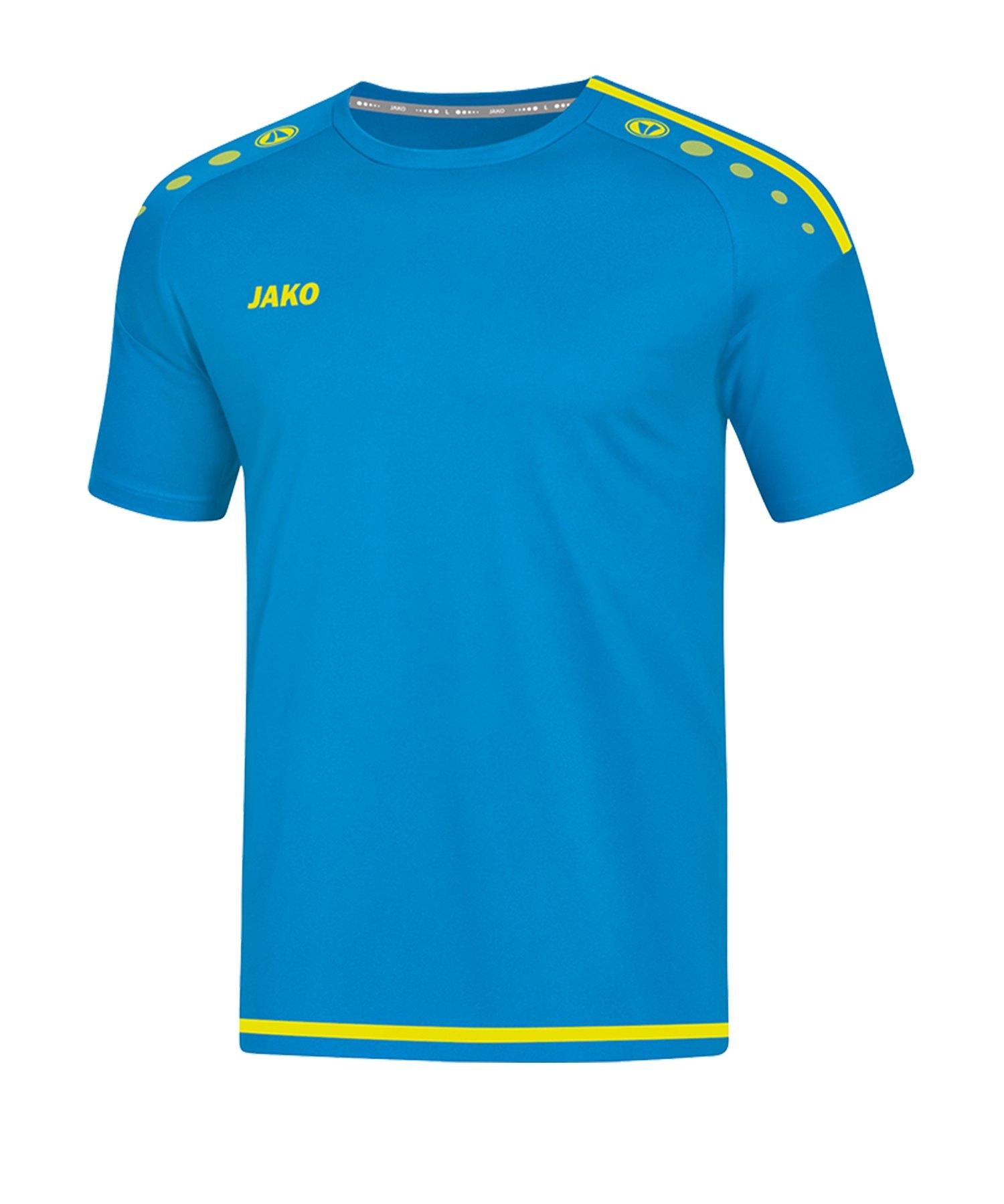 Jako Striker 2.0 Trikot kurzarm Blau Gelb F89 - Blau