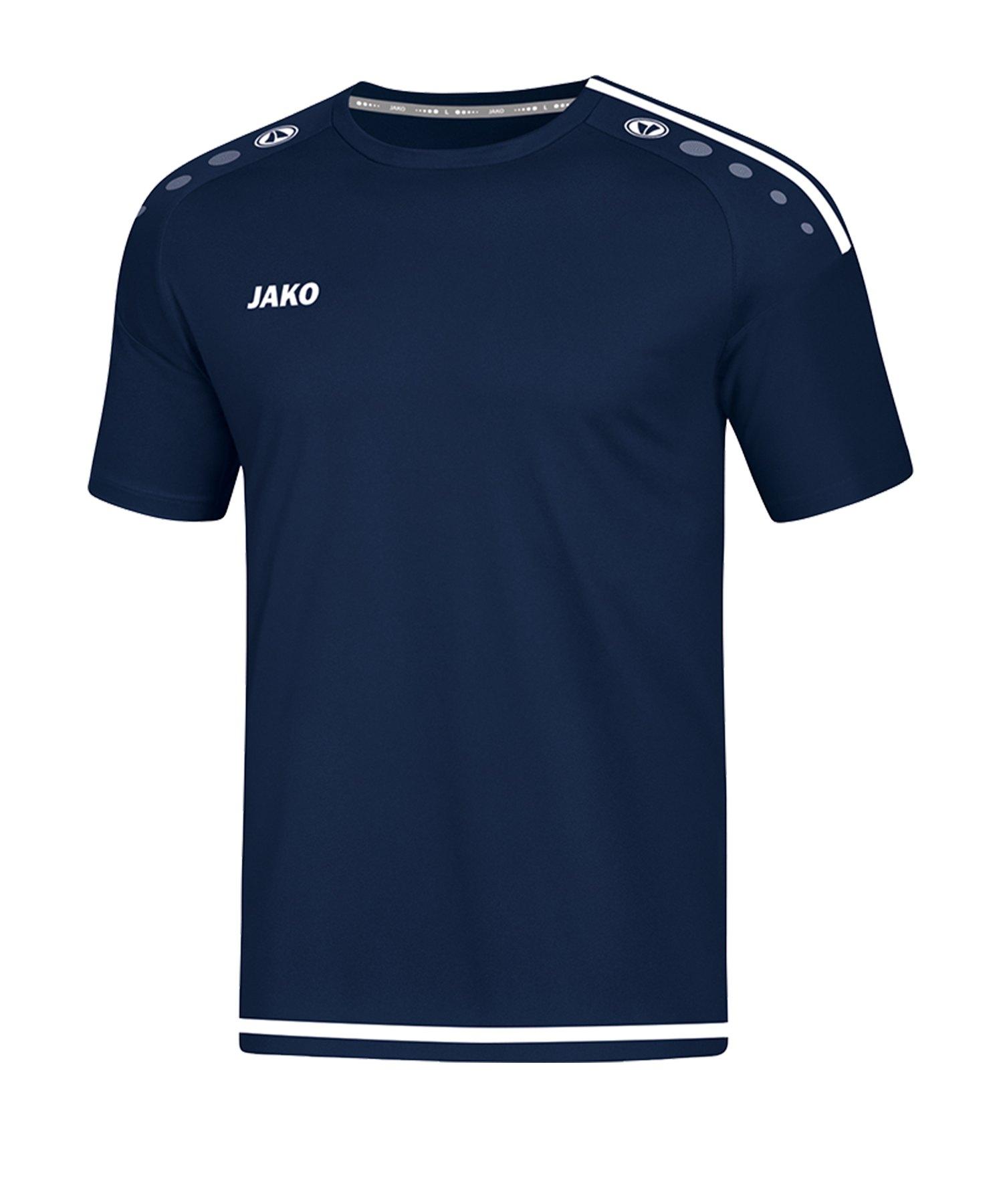 Jako Striker 2.0 Trikot kurzarm Blau Weiss F99 - Blau