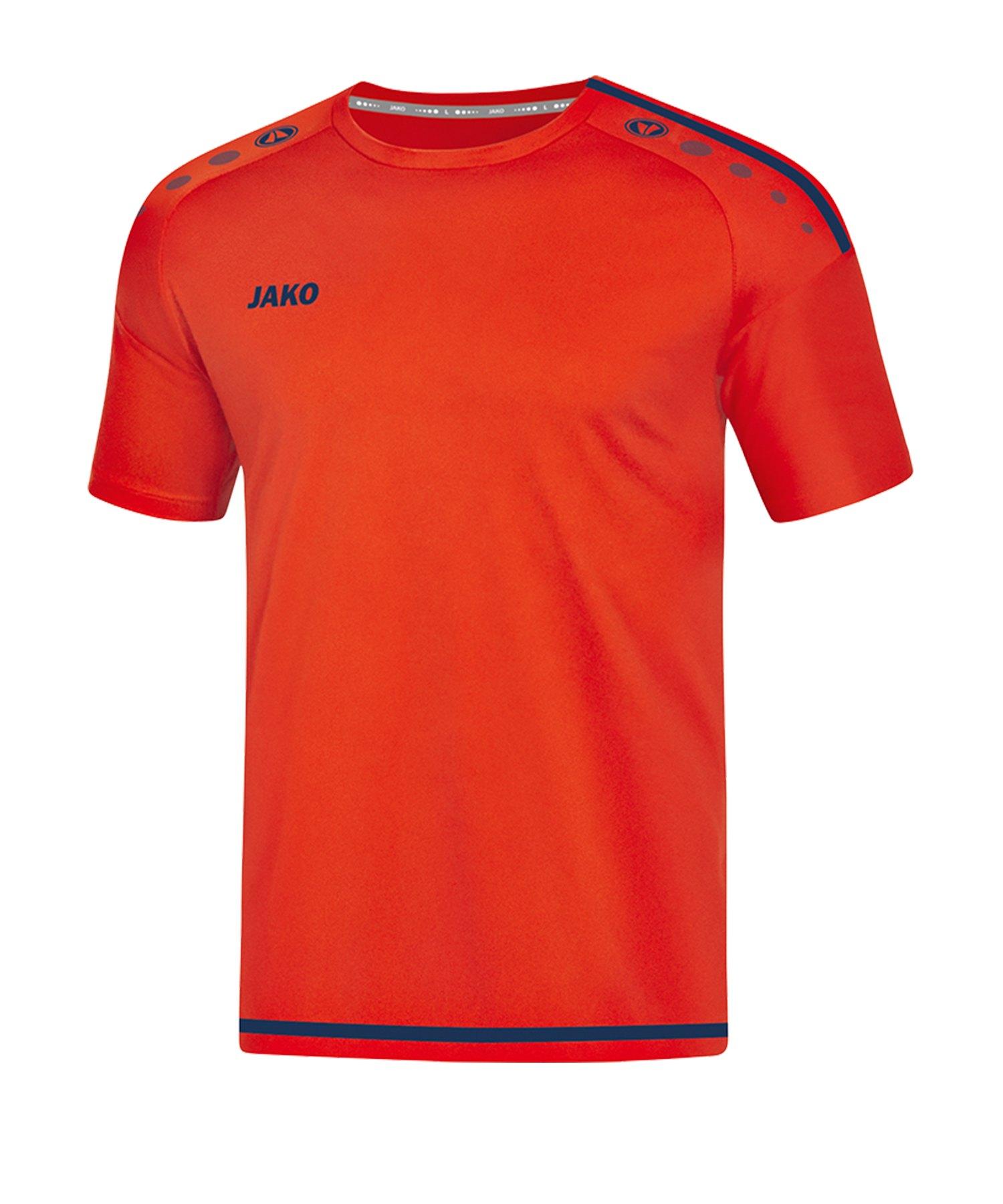 Jako Striker 2.0 Trikot kurzarm Orange Blau F18 - Orange