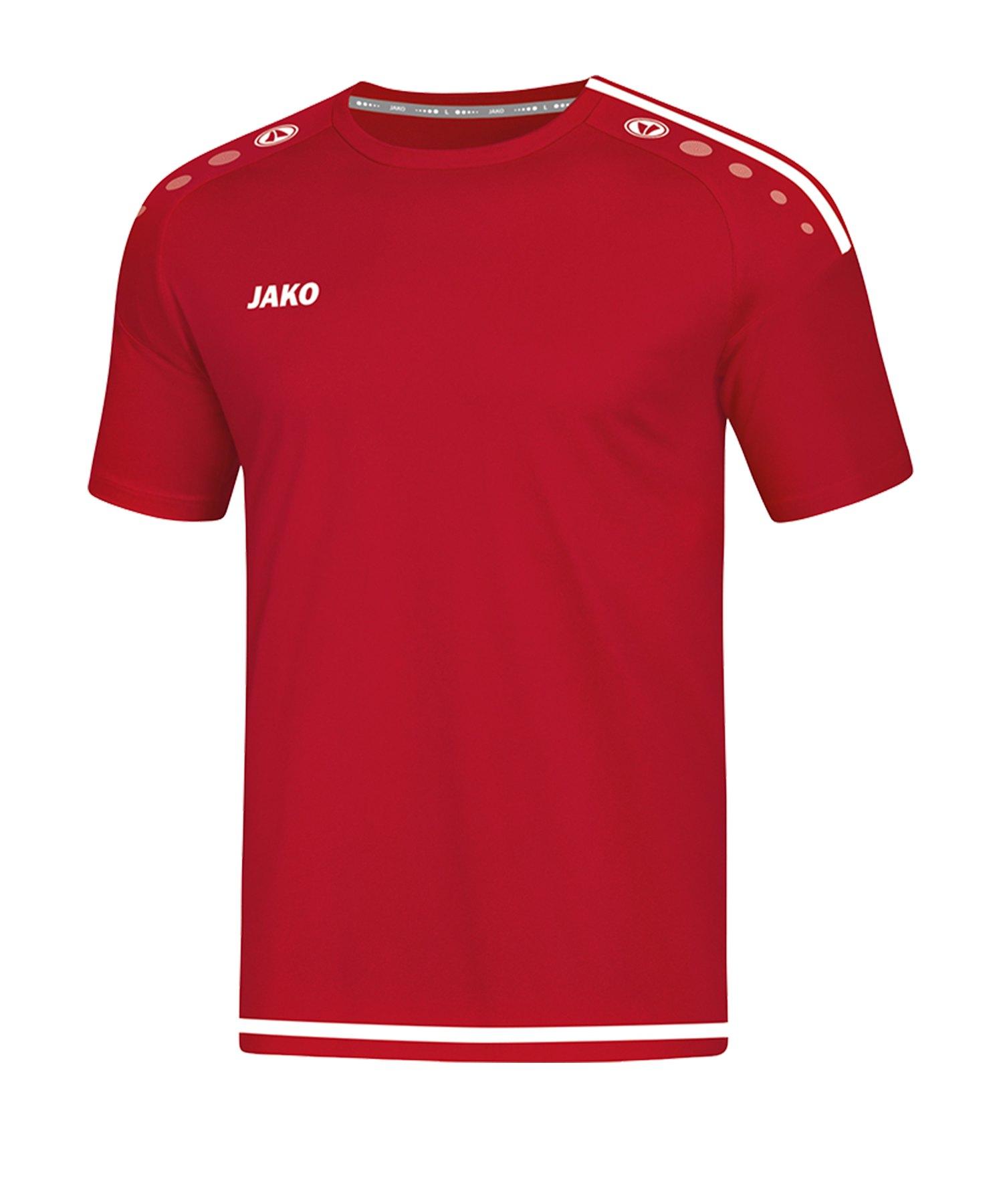 Jako Striker 2.0 Trikot kurzarm Rot Weiss F11 - Rot