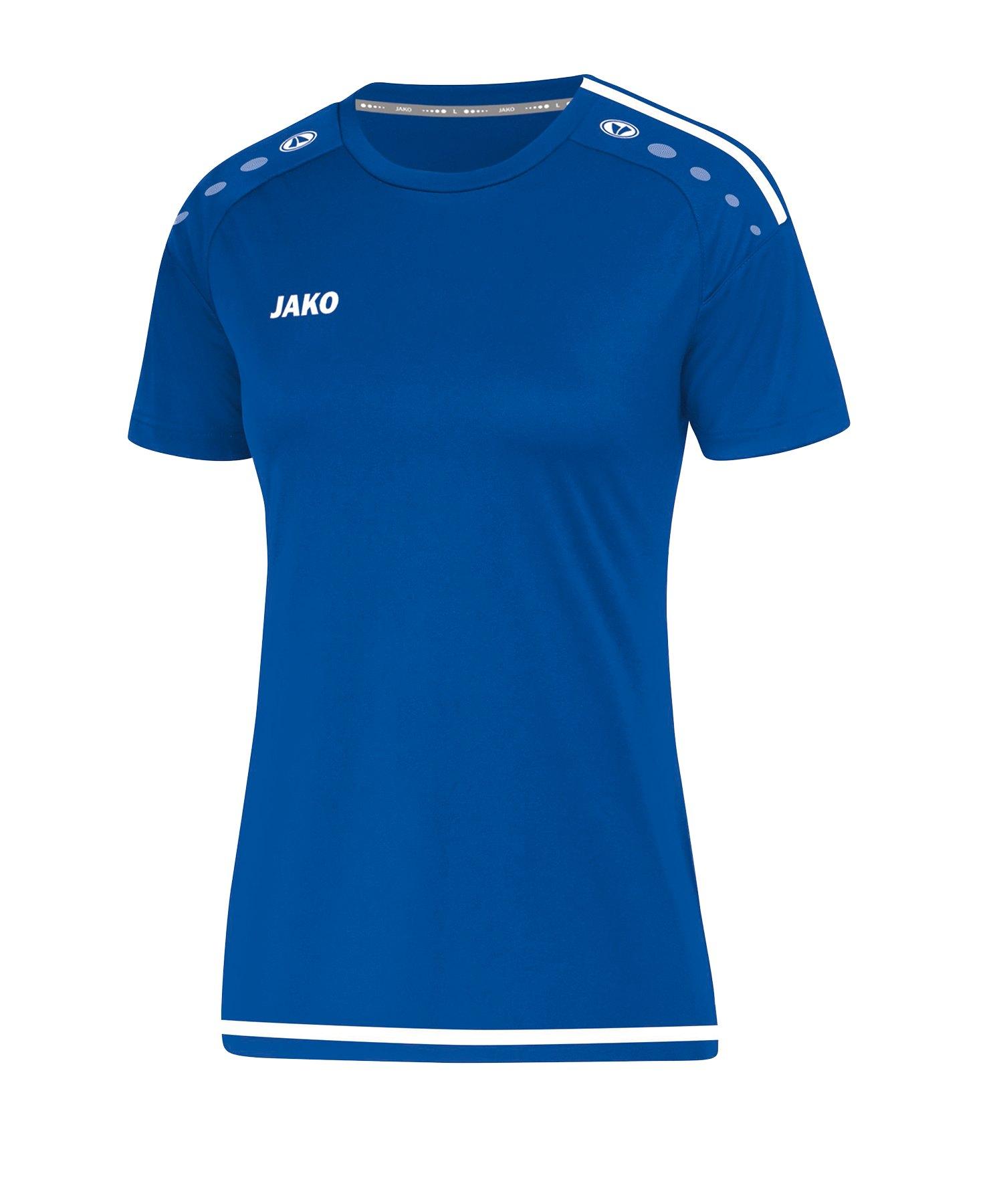 Jako Striker 2.0 Trikot kurzarm Damen Blau F04 - blau