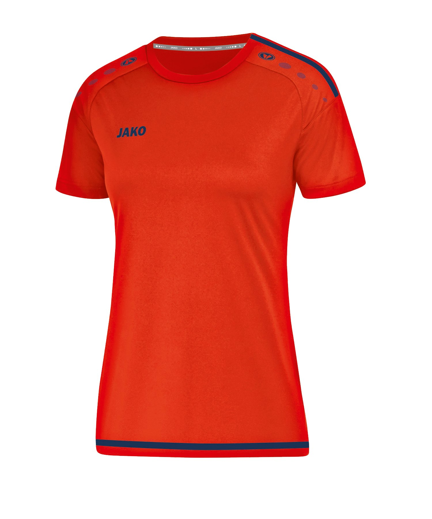 Jako Striker 2.0 Trikot kurzarm Damen Orange F18 - orange