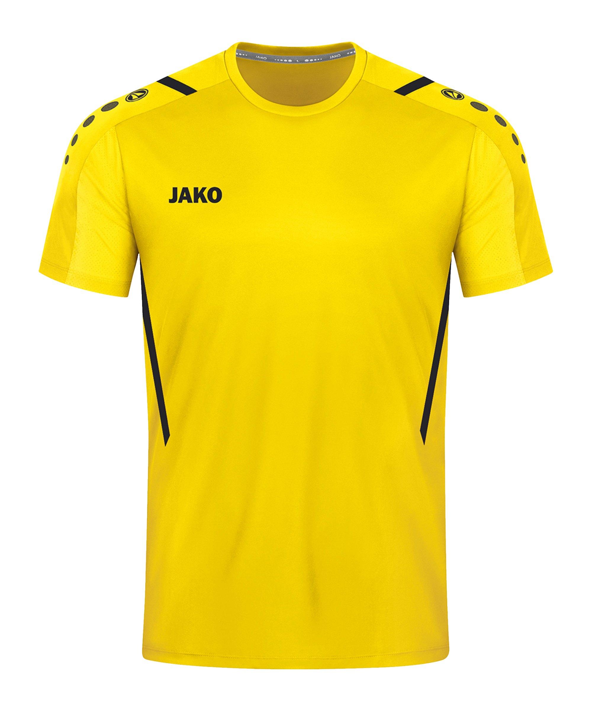 JAKO Challenge Trikot Gelb Schwarz F301 - gelb