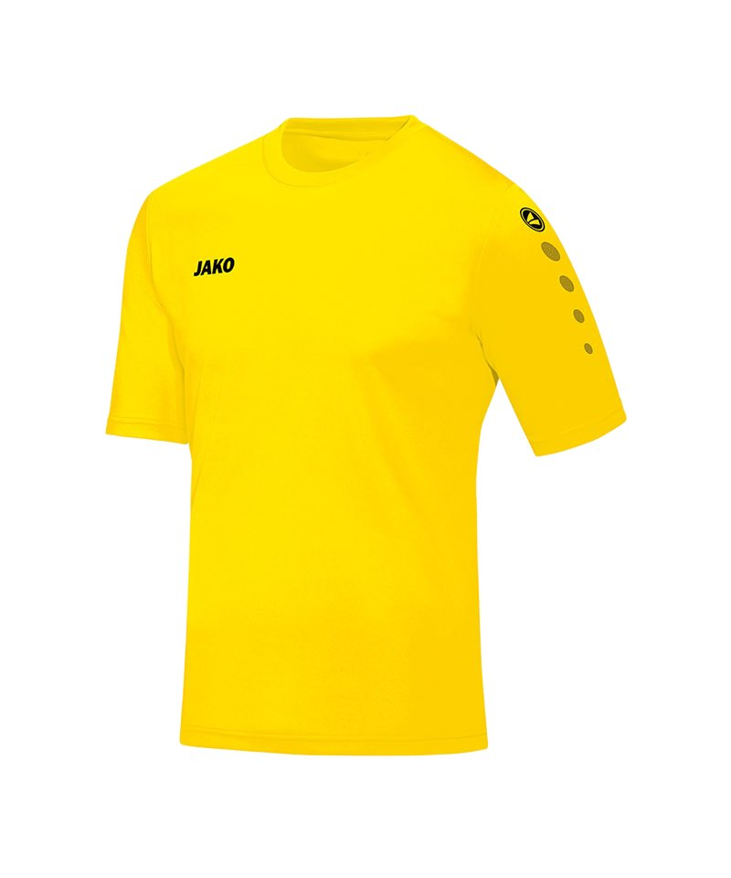 Jako Trikot Team kurzarm Kinder Gelb F03 - gelb
