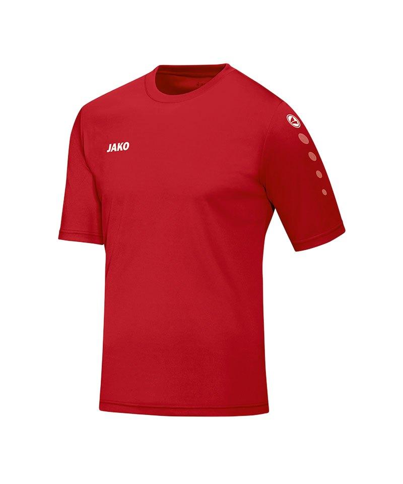 Jako Trikot Team kurzarm Kinder Rot F01 - rot