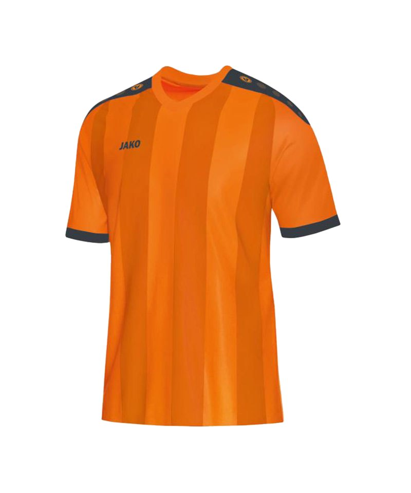 Jako Kurzarm Trikot Porto F21 Orange Grau - orange