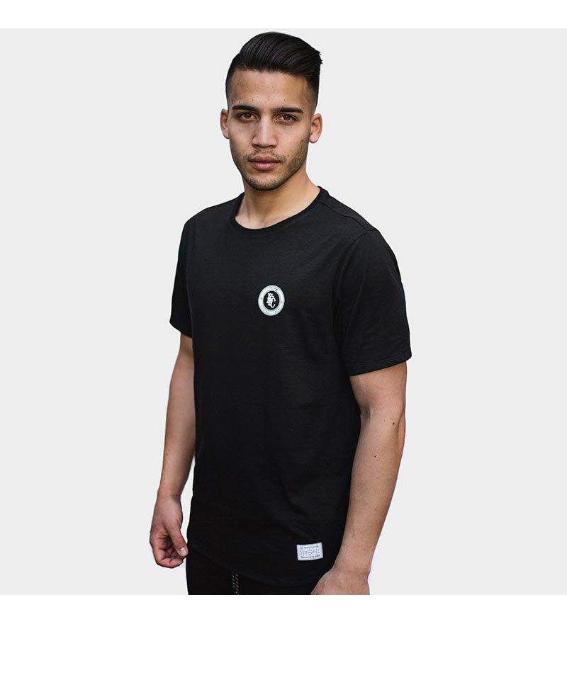 FREAM F.C. T-Shirt Meshline Crew 5 Schwarz - schwarz