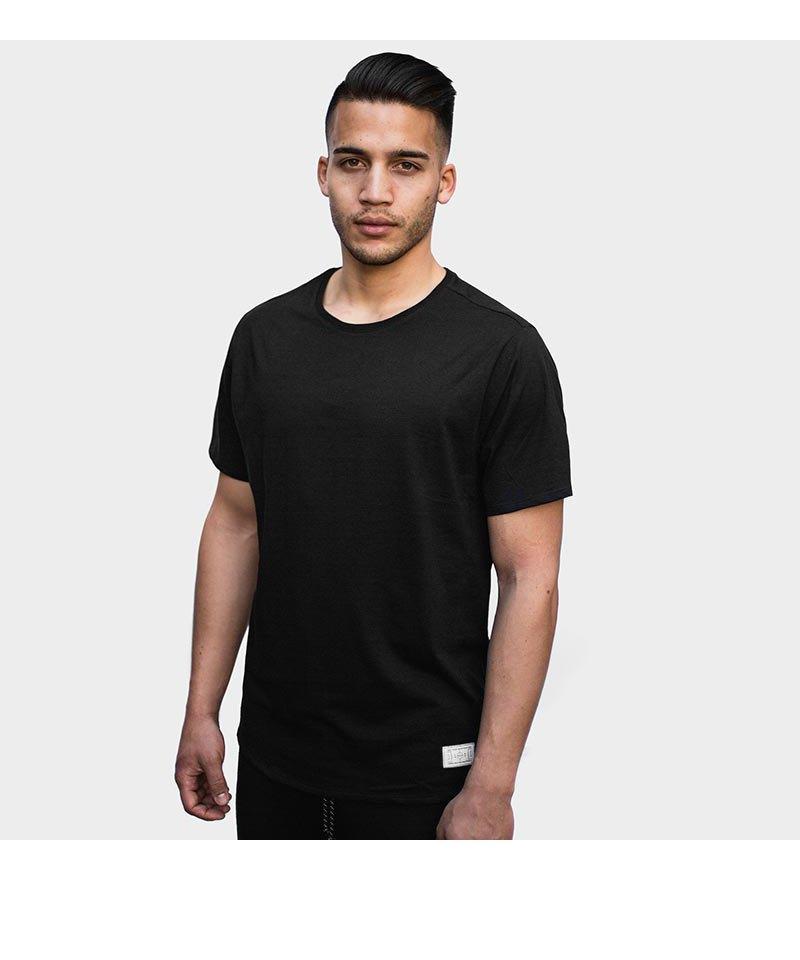 FREAM F.C. Meshline T-Shirt Crew 6 Schwarz - schwarz
