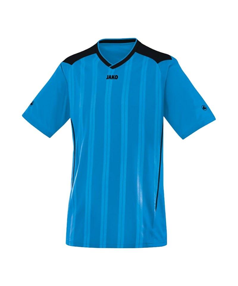 Jako Kurzarmtrikot Cup Damen F89 Blau Schwarz - blau