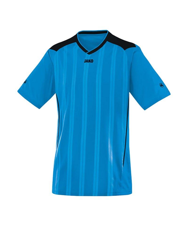 Jako Kurzarmtrikot Cup F89 Blau Schwarz - blau