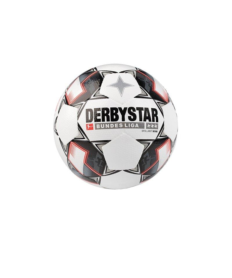 Derbystar Bundesliga Brillant APS Minifussball Weiss F123 - weiss