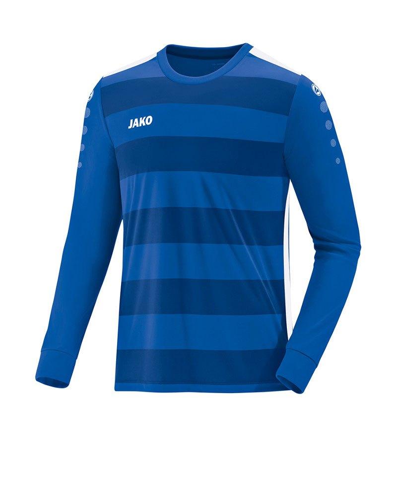 Jako Celtic 2.0 Trikot langarm Blau Weiss F04 - blau