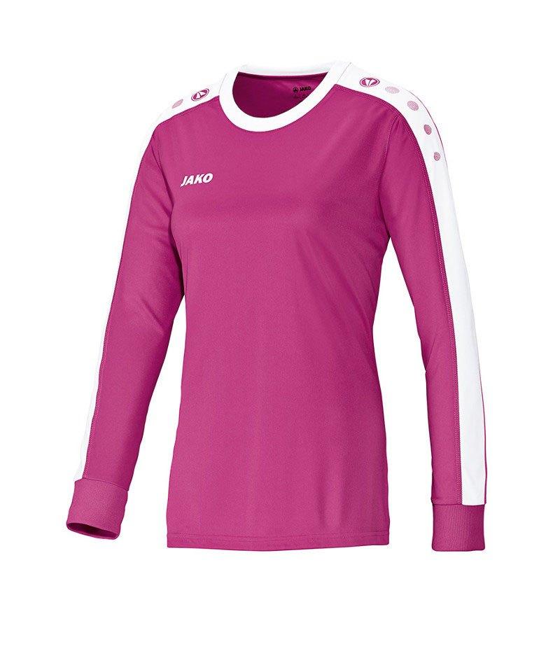 Jako Langarm Trikot Striker Damen F16 Pink - pink