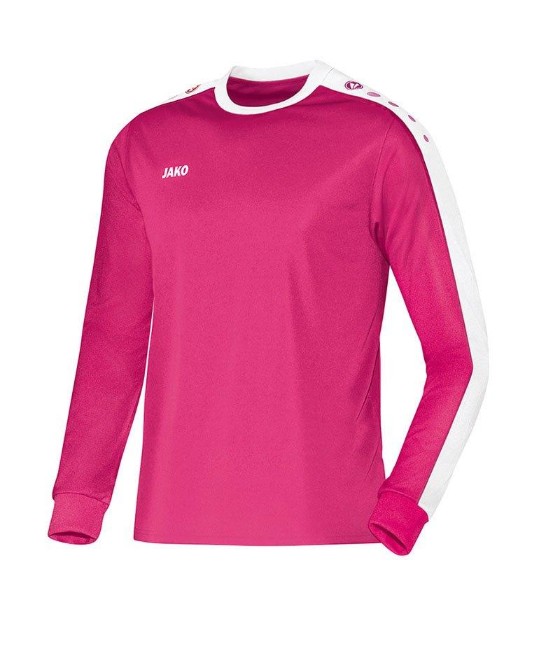 Jako Langarm Trikot Striker F16 Pink - pink