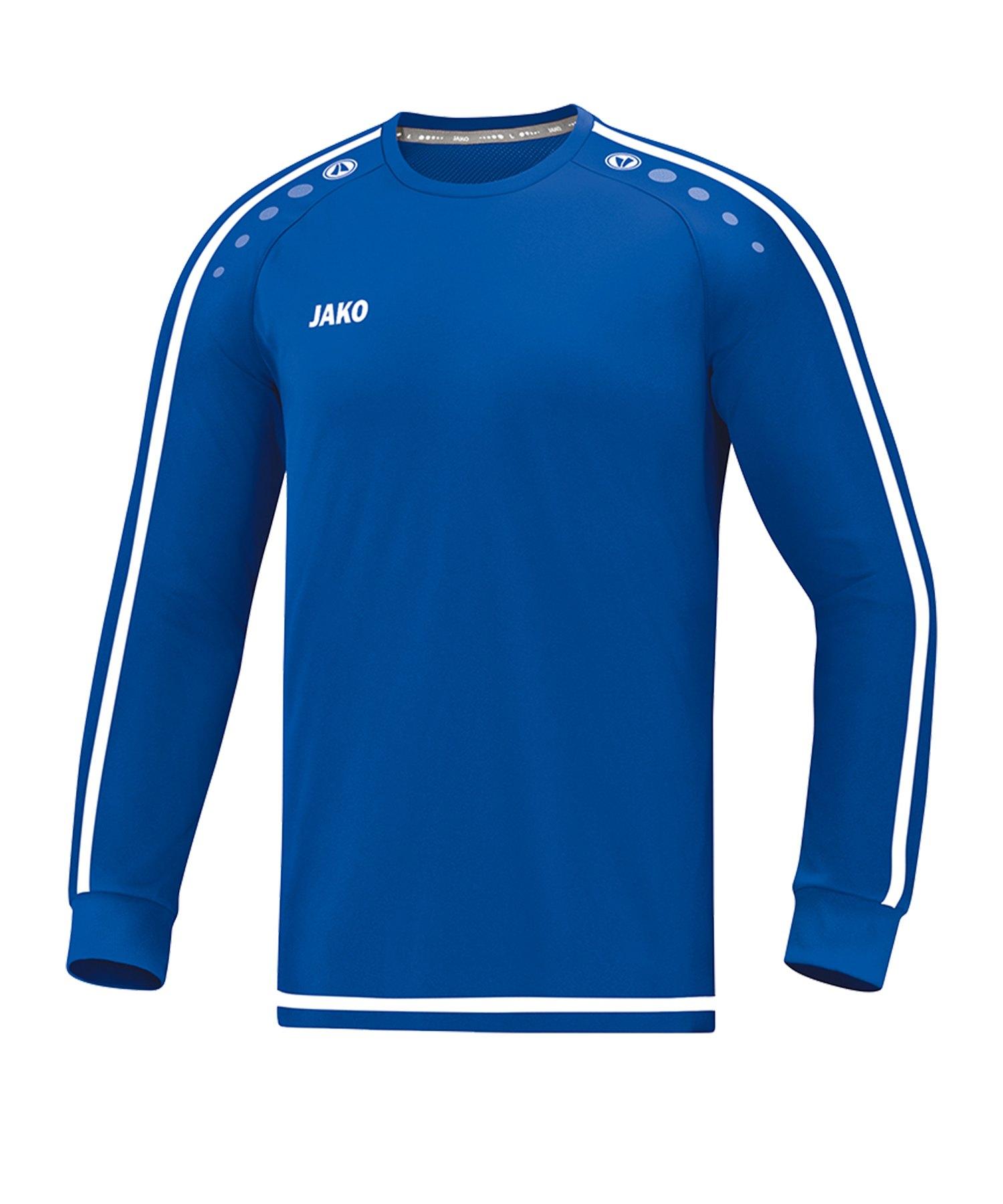 Jako Striker 2.0 Trikot langarm Kids Blau F04 - Blau