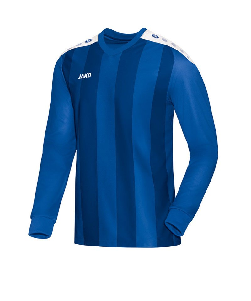 Jako Langarm Trikot Porto F04 Blau - blau