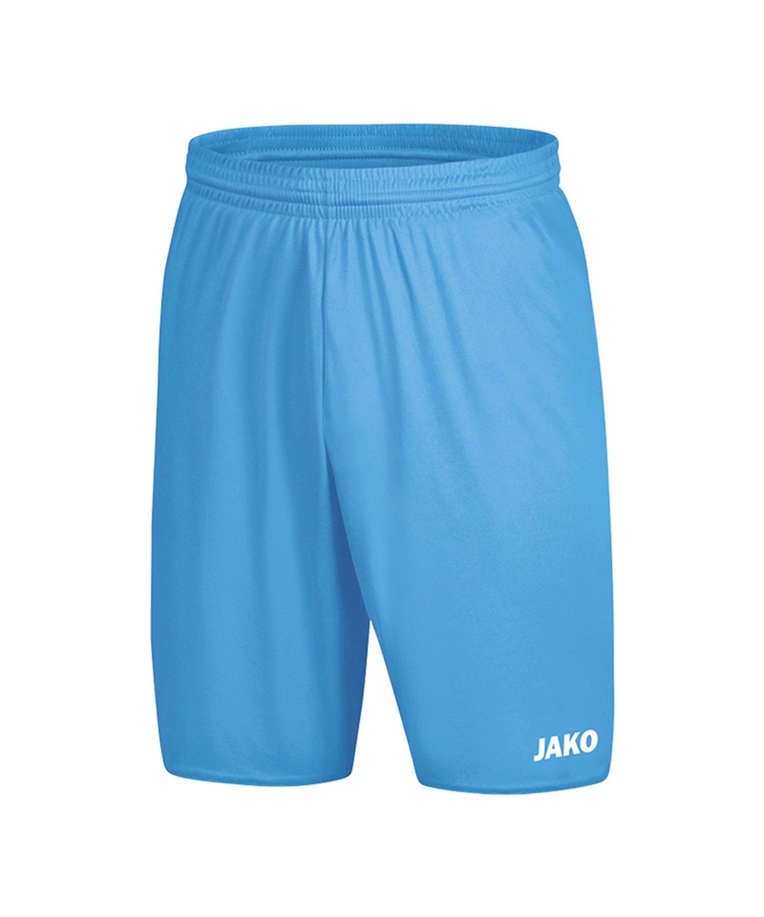 Jako Manchester 2.0 Short ohne Innenslip Blau F45 - Blau