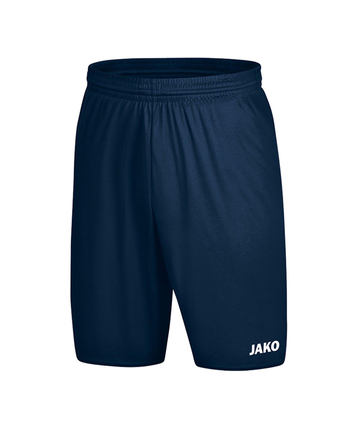 Jako Manchester 2.0 Short ohne Innenslip Blau F90 - Blau