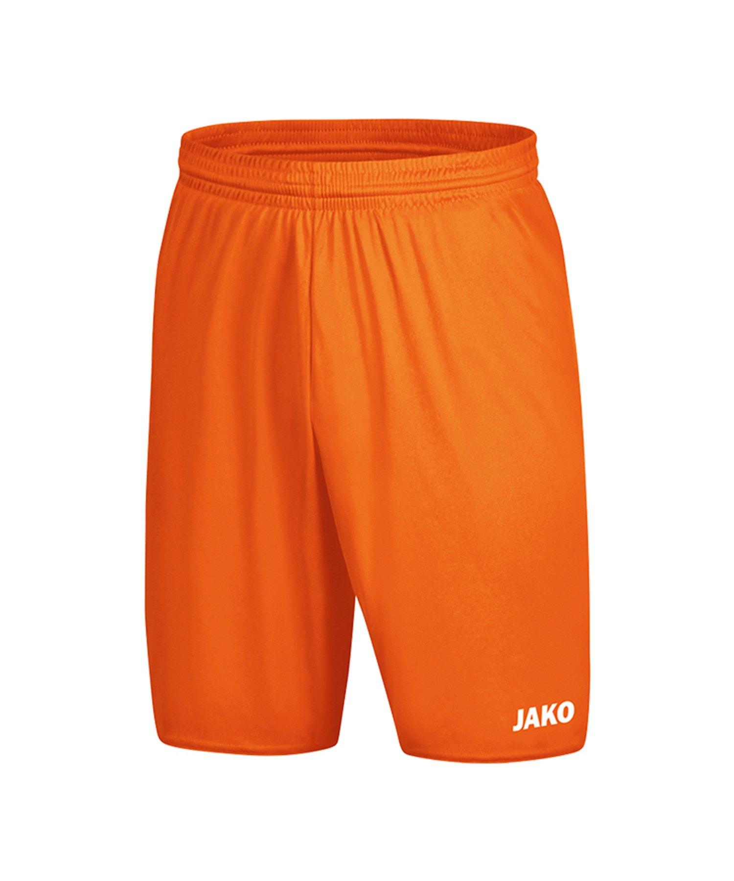 Jako Manchester 2.0 Short ohne Innenslip F19 - Orange
