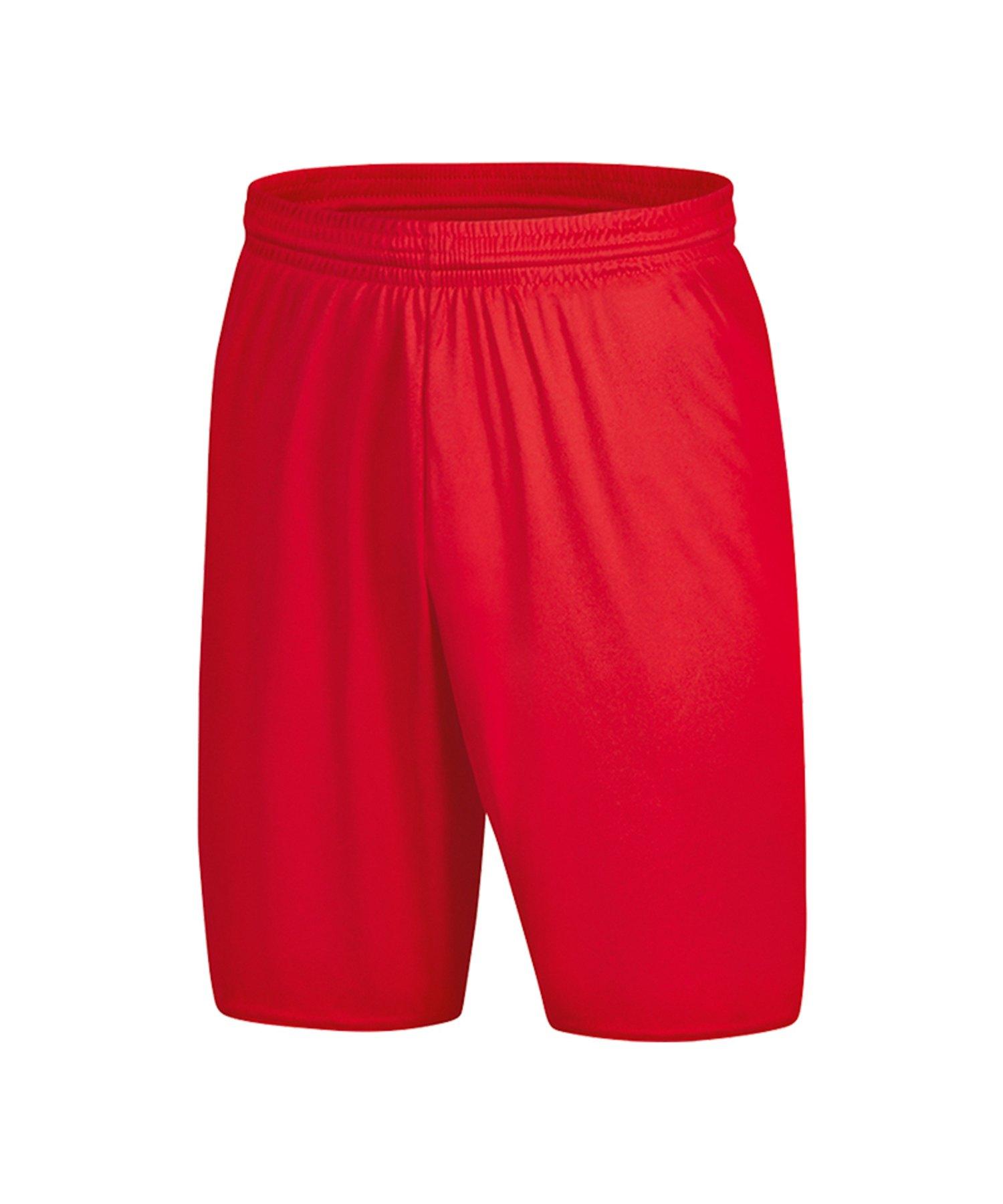 Jako Palermo 2.0 Short Hose kurz Rot F01 - Rot