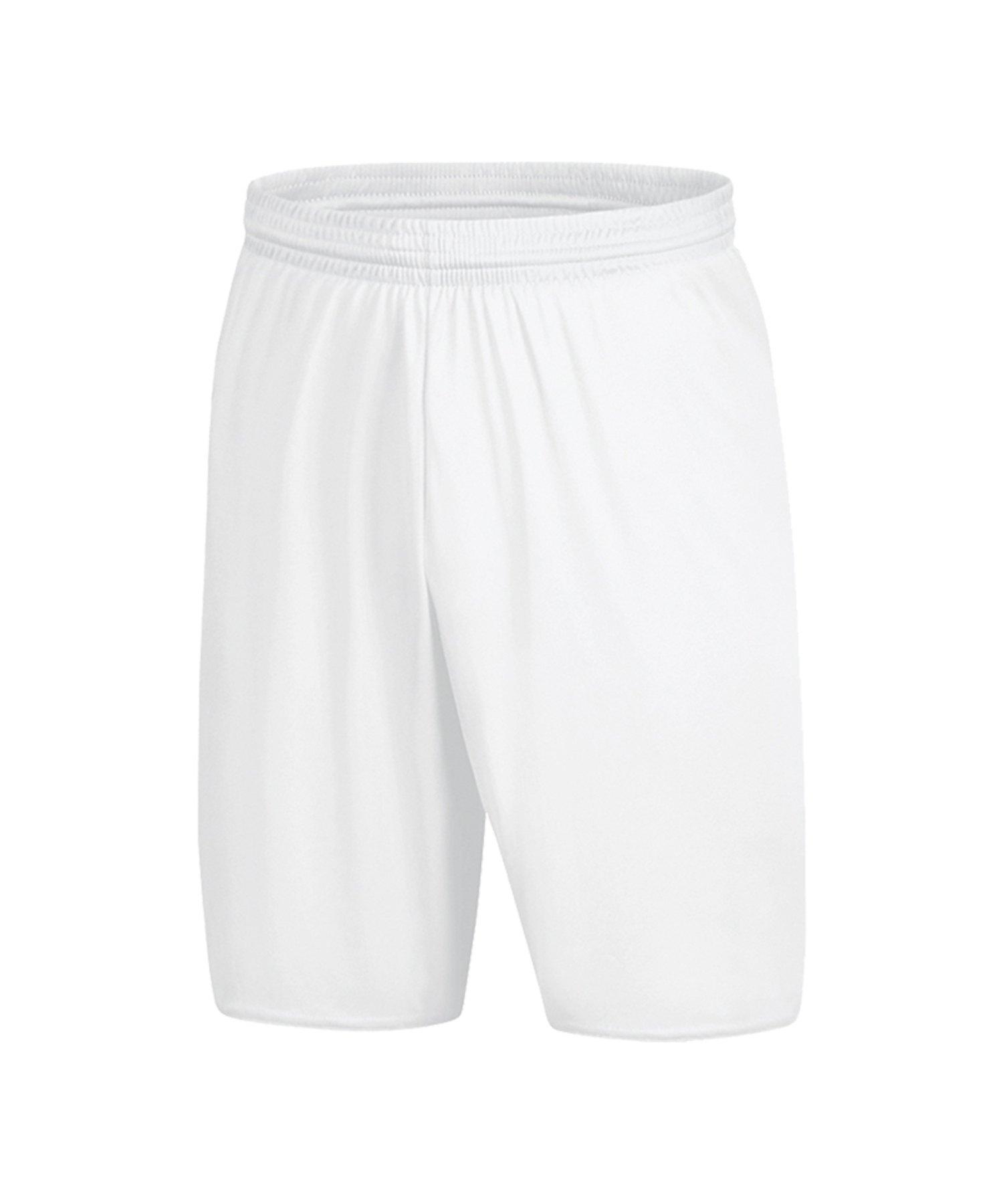 Jako Palermo 2.0 Short Hose kurz Weiss F00 - Weiss
