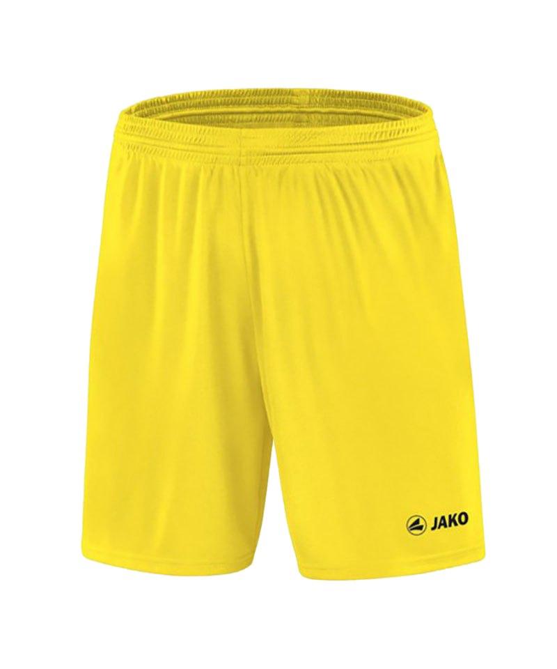 Jako Sporthose Manchester Short Gelb F03 - gelb