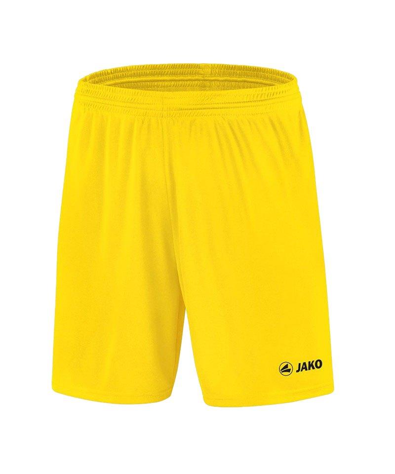 Jako Sporthose Manchester Short Kids Gelb F03 - gelb
