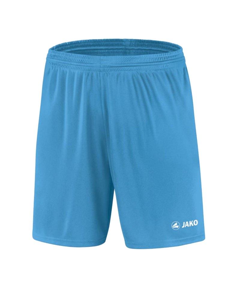 Jako Sporthose Manchester Short Kids Hellblau F45 - blau